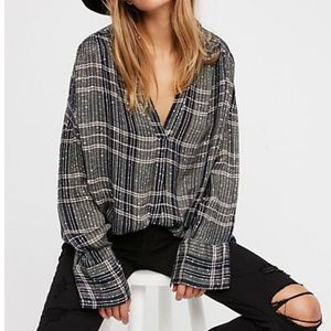 Free People Fearless Love Pullover Tunic Top